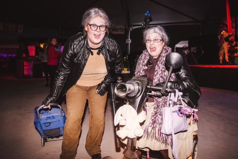 Image of two old ladies